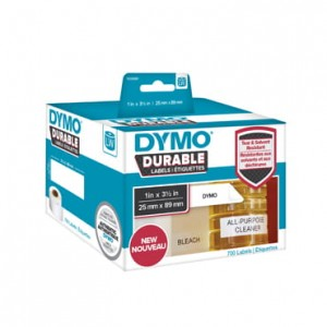 Etykiety Dymo Durable 25x89 mm 1933081